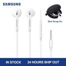 Samsung EG920 écouteur filaire blanc noir avec 3.5mm in ear Plug haut parleur Microphone casque pour Xiaomi Huawei