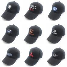 Unisex Fashion Cotton Car logo performance Baseball Cap hat