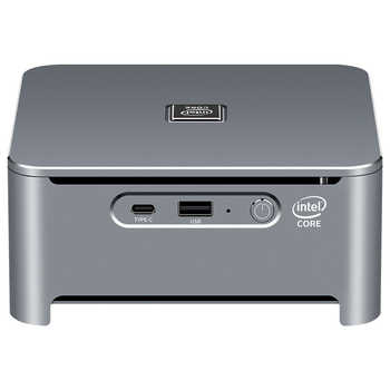 Intel Core Mini PC i9 9880H i7 9750H i5 9400H 8-Cores 2*DDR4 M.2 SSD HDMI DP 4K 60fps 5*USB Type-C WiFi Bluetooth Windows 10