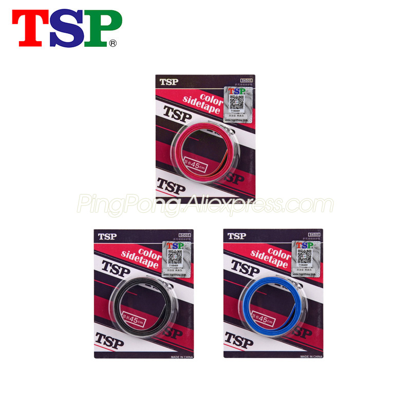2x Original TSP Table Tennis Racket Edge Tape Side Protective Tape Ping Pong Bat Sponge Tape Accessories
