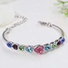 Amethyst Bracelet Women's bracelet amber Armband braclelets ladies Fashion Love Crystal Bracelet  gemstone SZ36 цена