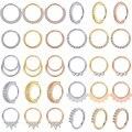 ZS 1 шт. латунный пирсинг носовой перегородки 20 г, пирсинг носа, кольца Daith, пирсинг, серьги-раковины, ювелирные изделия для пирсинга тела