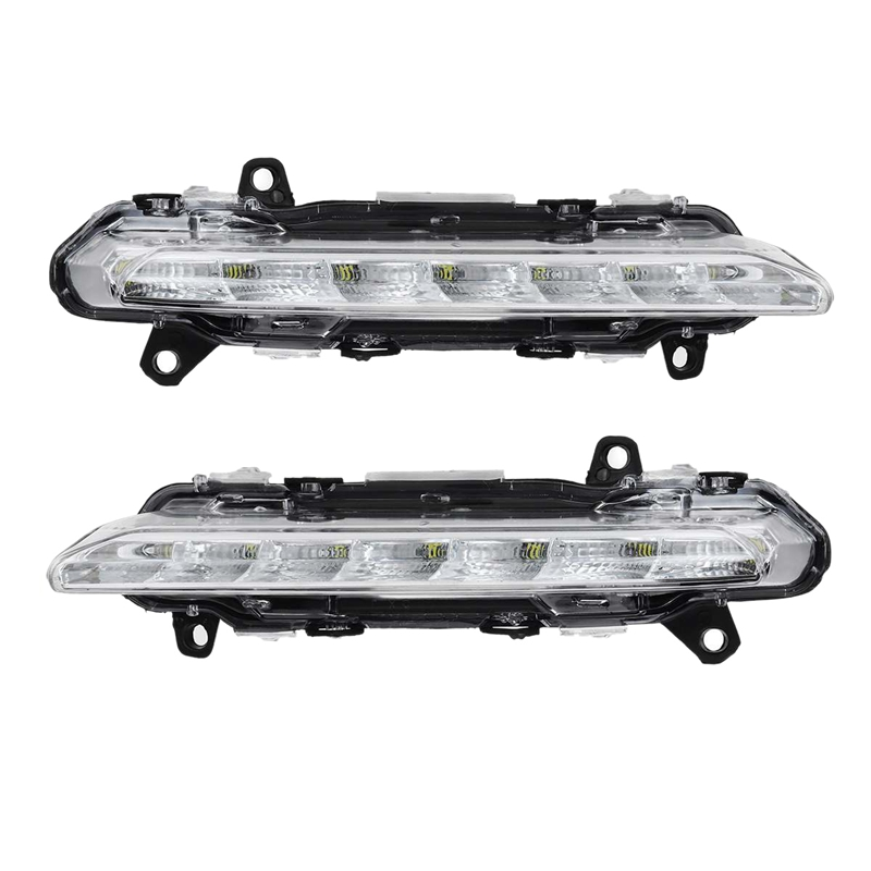Araba LED DRL gündüz farları sis farları mercedes-benz W221 C250 C300 C350 CL550 AMG CLS550 R350