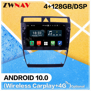128G DSP Carplay Android Screen Player For Audi A6 1998 1999 2000 2001 2002 2003 2004 2005 2006 GPS Radio Audio Stereo Head Unit image