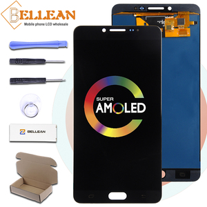 Catteny Promotion C9000 LCD For Samsung Galaxy C9 Pro Display With Touch Screen Digitizer Assembly Free Shipping Replacement(China)