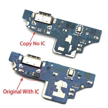 Conector de base cargador Micro USB puerto de carga cable flexible de micrófono para Nokia 7,2