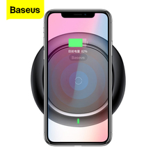 цена на Baseus UFO Wireless Charger For iPhone X 8 Samsung Note8 S9 S8 Mobile Phone 10W Qi Wireless Charging Charger Fast Charging Pad