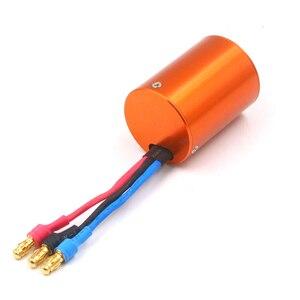 Image 1 - Fatjay ブラシレス inrunner 4 極センサレスモータ 2838 2800KV 3800KV rc カーボート 380 390 アップグレードモーター
