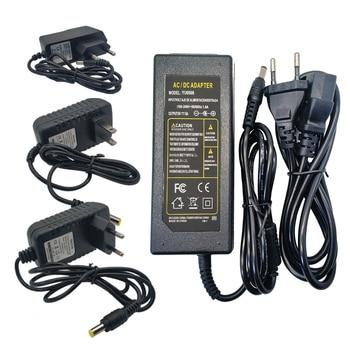 цена на Transformator 220V to 12v Power Adapter Supply AC to DC 12V 1A 2A 3A 4A 5A 6A 8A 10A Lighting Transformer Led 12 V Power Supply