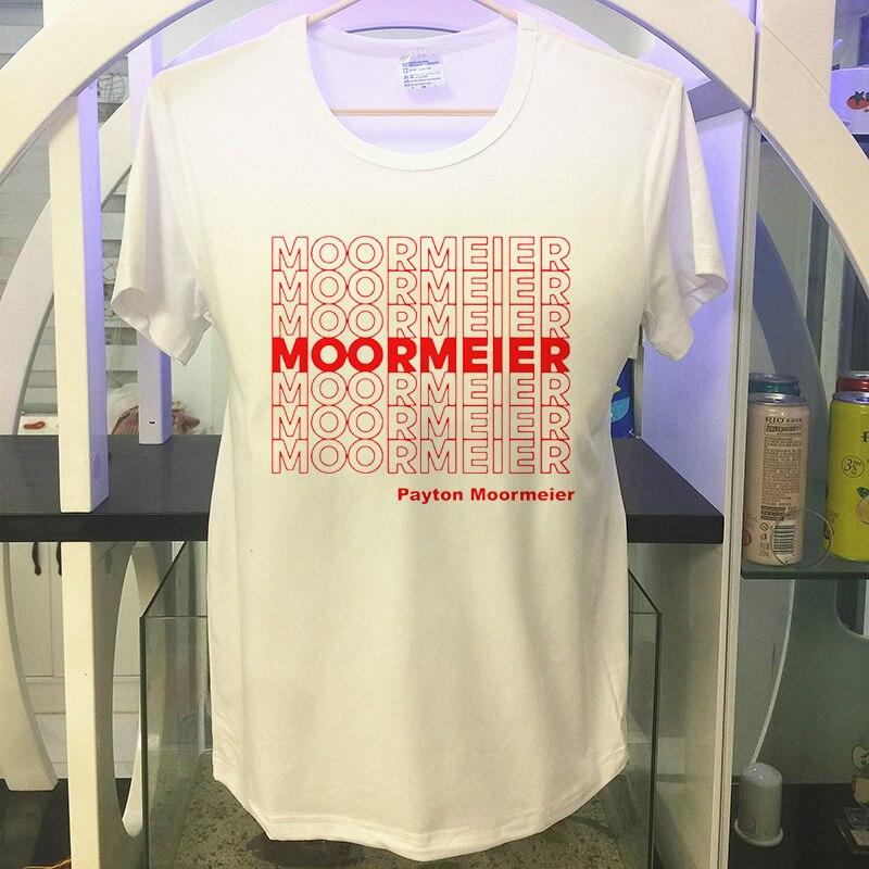 Payton Moormeier for Women Harajuku Tshirt Men Graphic 90s T-shirt Hip Hop Streetwear Unisex T shirt Funny Cartoon Top Tees Male