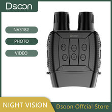 Dsoon Night Vision Binoculars NV3182 Infrared Digital Hunting Telescope Camping Equipment Photography Video 300m Distance