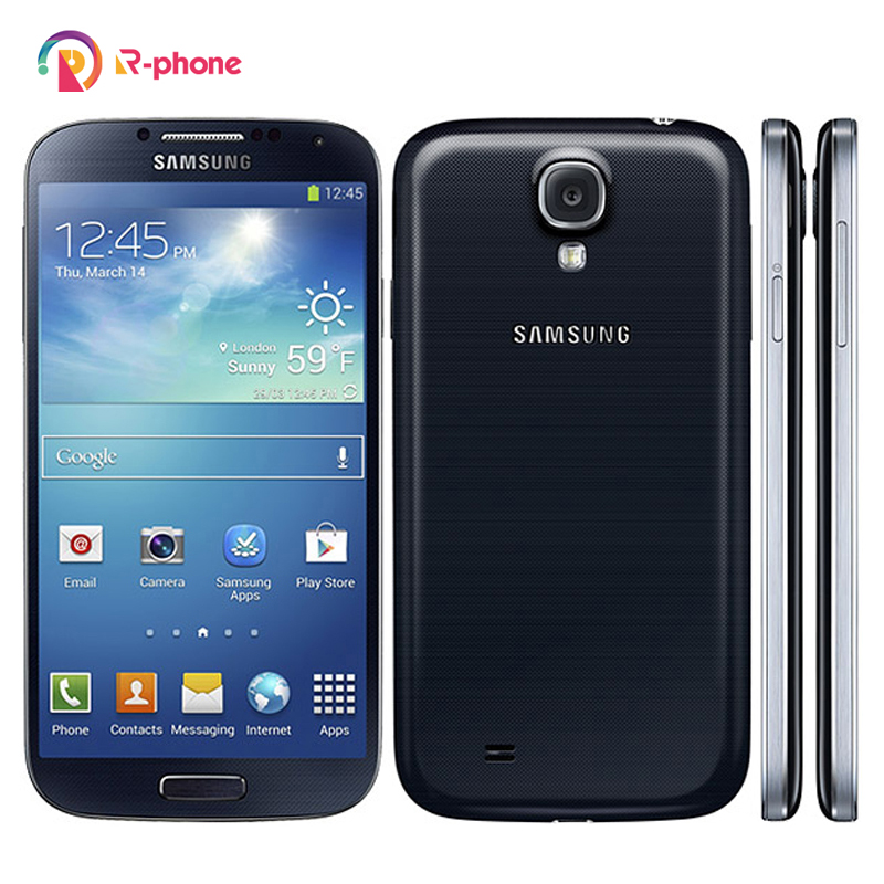 Оригинальный разблокированный Восстановленный телефон SAMSUNG Galaxy S4 I9500 I9505