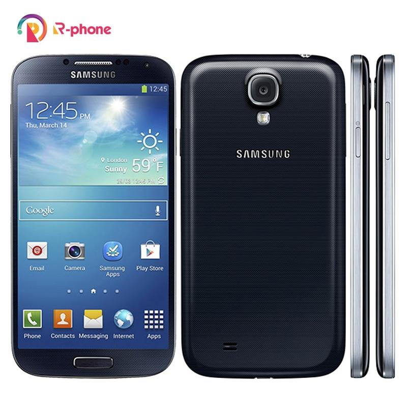 SAMSUNG-teléfono inteligente Galaxy S4 I9500 I9505, móvil renovado, Android Original