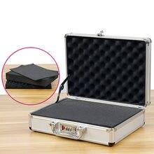 Boîte à outils Portable en alliage d'aluminium, mot de passe, équipement de quincaillerie, Instrument de sécurité, boîte à outils pour fichiers