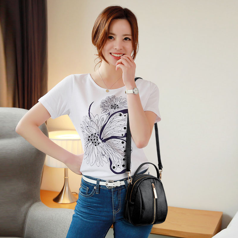 Crossbody Bag Women 2019 Fashion Black High Quality Pu Leather Messenger Bag For Women Mini Shopping Women Bag Shoulder Bag For