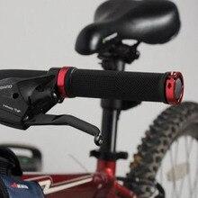 цена на 1 pair MTB BMX Road Cycling Handlebar Grips Anti-Skid Rubber Bicycle Grips Mountain Bike Lock On Bicycle Handlebars End Grips