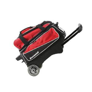 Bowling-Supplies Bowler-Bag Double-Ball Portable with Large-Wheel Physical Tear-Resistant