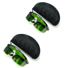 2pcs IPL-2 CE OD5+ UV400 200nm-2000nm Laser Protection Goggles Safety Glasses