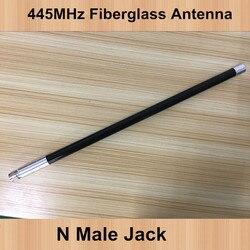 OSHINVOY UHF 445MHz repeater omni black fiberglass antenna 445M outdoor station N male fiberglass antenna 445M omni antenna