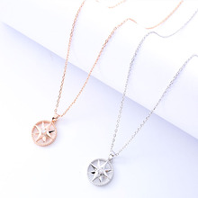 Star Pendant Necklace Female Fashion Jewelry Ladies Fine Jewelry Gift Party Charm Clavicle Chain Girlfriend Birthday Gift цены