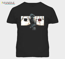 Naruto Hatake Sharingan Kakashi Retro T Shirt Free shipping Harajuku Tops  Fashion Classic Unique Cotton Men