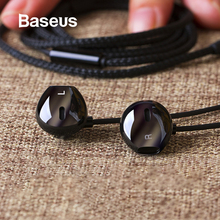 Baseus 6D Stereo In-ear Earphone Headphones Wired Control Bass Sound Earbuds for