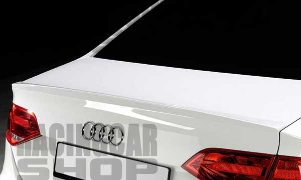 PAINTED RS Style Rear Trunk Spoiler FOR Audi A4 B8 2008-2012  A007F