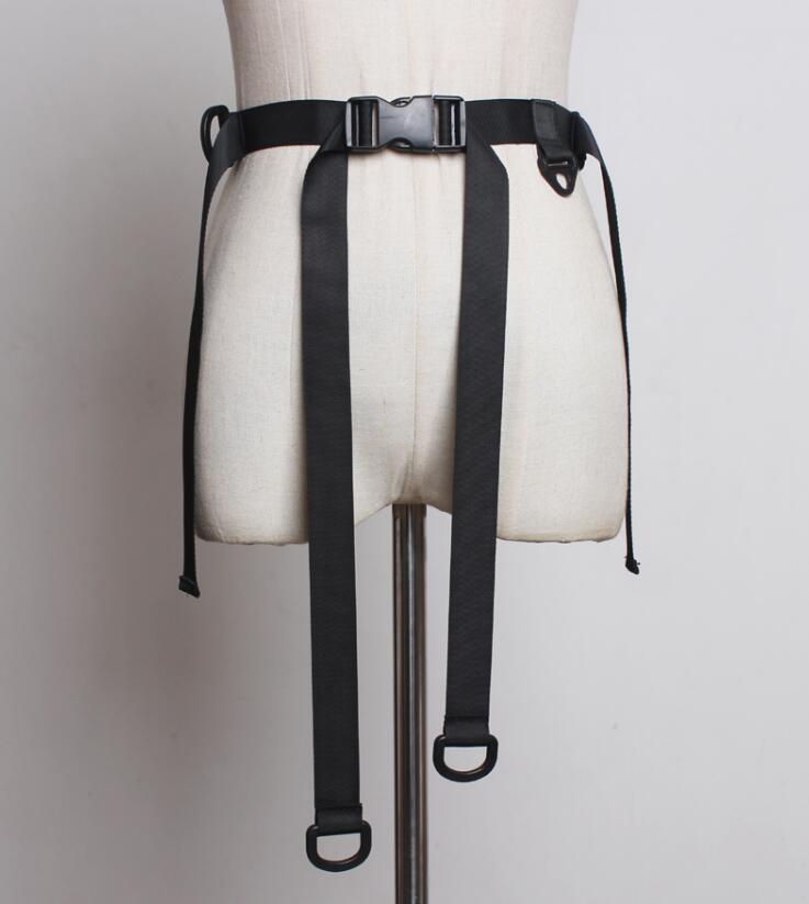 Women's Runway Fashion Black Cummerbunds Female Dress Corsets Waistband Belts Decoration Wide Belt R1852