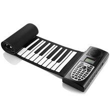 Elektrische Roll Up Piano Tragbare Faltbare 61 Schlüssel Elektronische Musik Tastatur Klavier