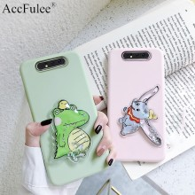 Lovely Dynamic Quicksand Dinosaur Case for Motorola Moto E4 Plus E5 E6 Z2 Play Z3 Z4 Squishy Elephant TPU Cover(China)