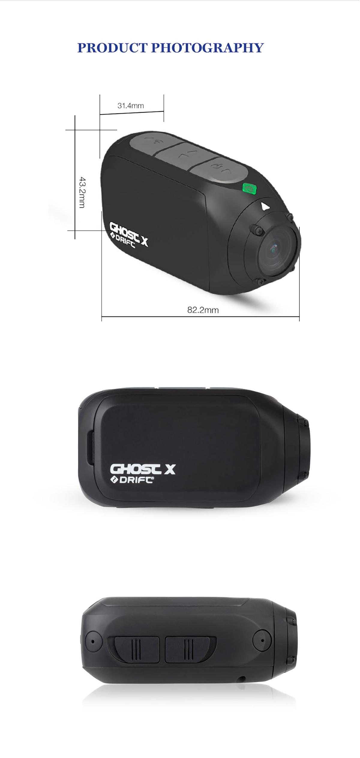Cámara Cam fantasma X Plus MC 1080P 16
