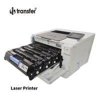 i Transfer Heat Transfer Materials Laser Printer Compatible White Color Toner Cartridge for Printer White Toner Cartridge CMYKW