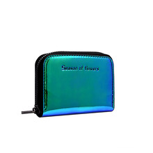 US $2.43 13% OFF|New Women Laser Holographic Wallets Short Cute Purse Small Wallet Women Folding Wallet Card Holder Coin Purse Wallet-in Wallets from Luggage & Bags on AliExpress