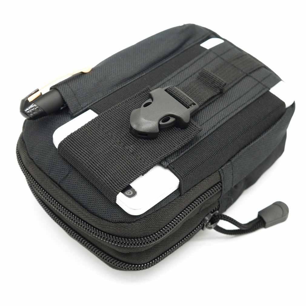 Universal Outdoor Taktische Tasche Military Taille Gürtel Tasche Brieftasche mit Zipper Multifunktions Telefon Tasche Tasche für Männer Im Freien