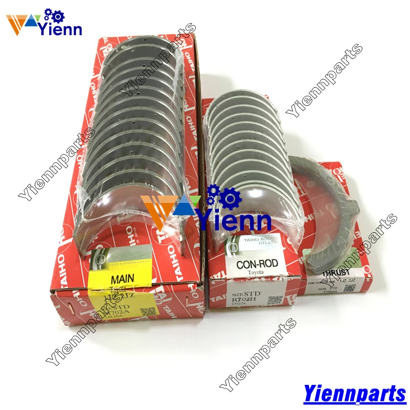 For <font><b>TOYOTA</b></font> <font><b>1JZ</b></font> <font><b>2JZ</b></font> Crankshaft Main Bearing Connrod Bearing Thrust Washer For CROWN LEAUS JZS13 JZS14 DOHC Engine Repair Part image