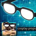 Модные мужские и женские светящиеся очки со светодиодсветильник очки Аниме Косплей вечерние ринка реквизит стильный внешний вид Аниме Рек...