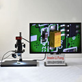 Full HD 2K Sony Sensor 2D 3D Video Microscope USB Storage HDMI Precision Measurement Magnifier Precision Hardware SMT Testing
