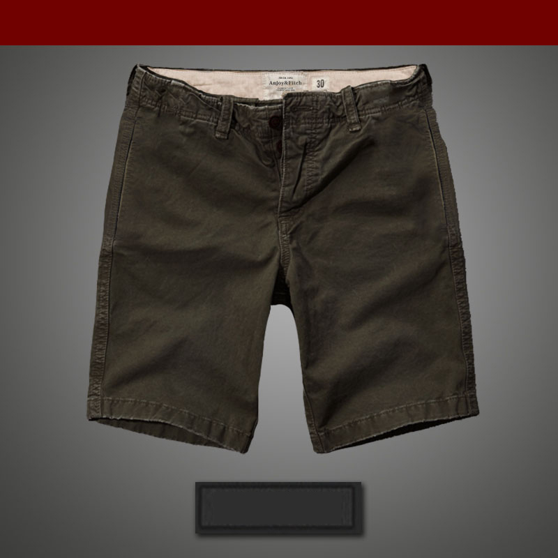 Men's Cargo Shorts Washed Pure Cotton Cargo Overall Afs Hollistic Men Male Shorts