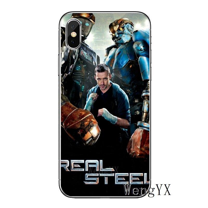 Film Real Steel 2011 Untuk Xiao Mi Mi 9 9 T Cc9 Cc9e 8 Se Pro Lite Merah Mi Catatan 8 7 7a Pro K20 2 3 Ponsel Case Kembali Cover Setengah Dibungkus Kasus Aliexpress