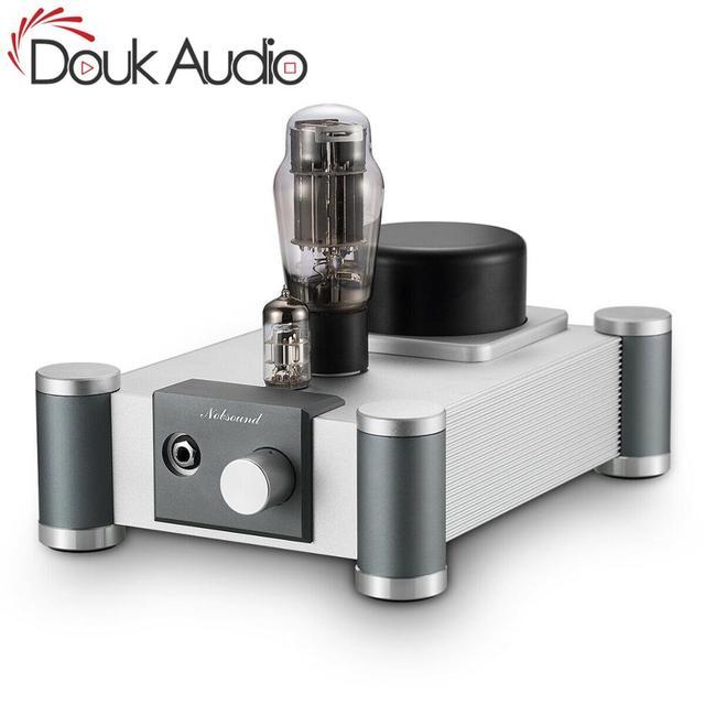 Douk audio 6N5P amplificador de auriculares de tubo de vacío de un solo extremo Clase A Amp