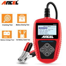Ancel – testeur de batterie de voiture, outil de Diagnostic de batterie, BA101, 100-2000cca, analyseur numérique, 12V