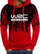 Unisexe Gradation WRC Championnat Du Monde des Rallyes FIA Logo homme Sweatshirt À Capuche Sweat À Capuche Pour Homme/Sweat À Capuche Pour Femme