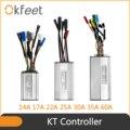 Контроллер KT 36V 48V 250W 350W 500W 750W 1000W 1500W Водонепроницаемый бесщеточный фотоэлемент с функцией освещения