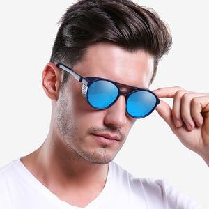 Image 5 - Óculos de sol polarizado tipo steampunk, óculos de sol da moda, polarizado, gótico, retrô, para homens e mulheres