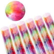 Xugar прозрачный ПВХ синтетическая кожа тканевые листы 22*30