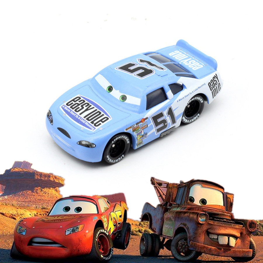 Disney Pixar Car 3 2 McQueen Jackson Storm Alma Mater 1:55 Alloy Alloy Model Car Boy KidToy Educational Toys For Children 2020