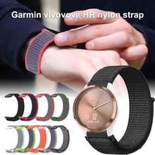 For Garmin Vivomove HR Smart Watch Nylon Replacement Wrist Strap 20MM Sport Bands Straps