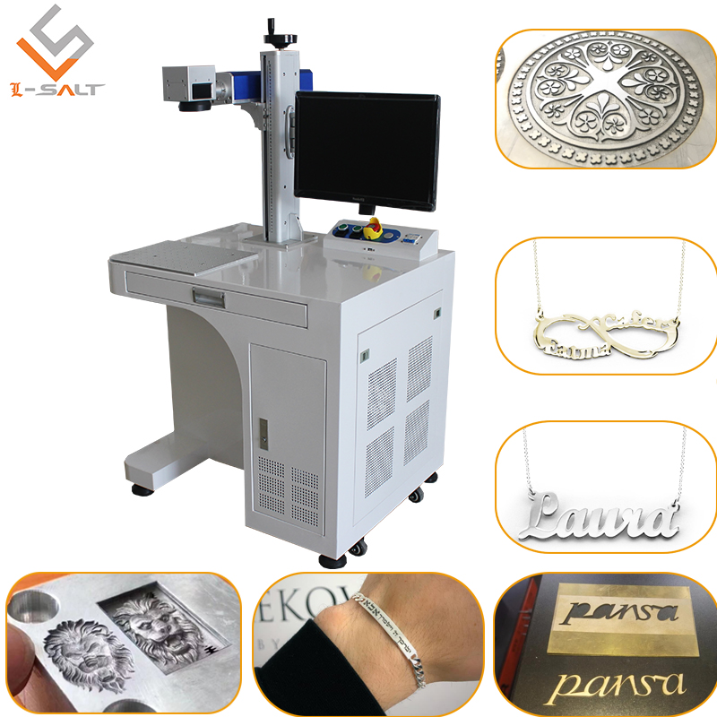 3d Laser Marking Machine For Precision Effective Marking Gold Silver Jewelry Cutting