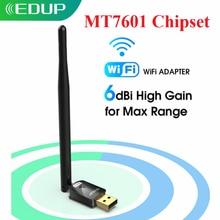 USB Wi-Fi адаптер EDUP, 150 Мбит/с, 6 дБи, 802.11n