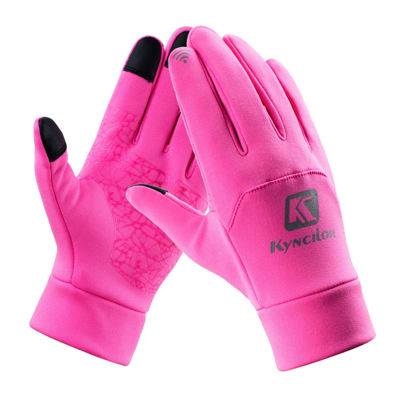 Windproof Fleece Ski Gloves Anti-slip Full Finger Men Women Unisex Outdoor Sport Cycling Thermal Touch Screen